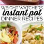 Weight Watchers Instant Pot Dinner Recipes With