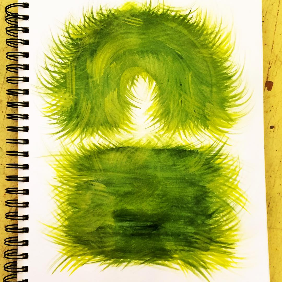 Fuzzy cozy green shapes for pillow sculptures? fuzzypillow cozy greenhellip