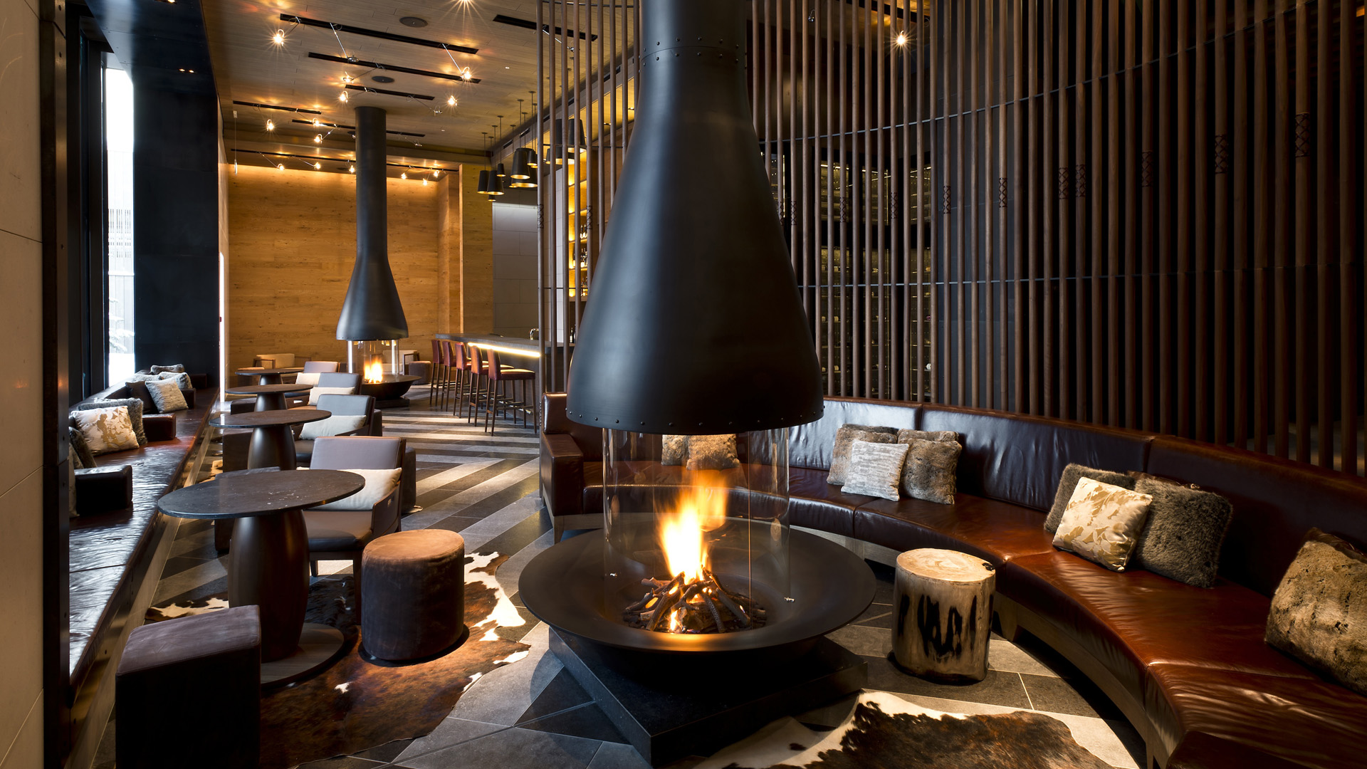 The Chedi Andermatt in Switzerland from Carrier