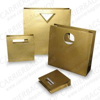 Gold Designer Gift Bags from Carrier Bag Shop, Supplier of ...