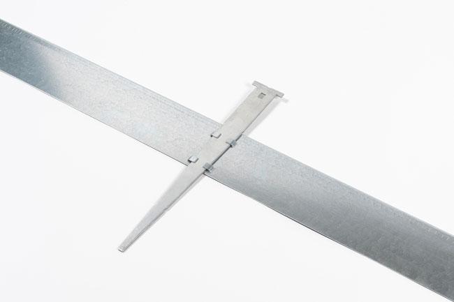 aluminium profil droit 100mm