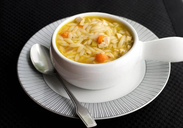 Turkey Orzo Soup