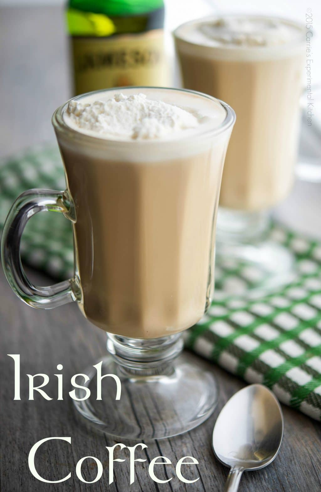 How to Make Irish Coffee  Carries Experimental Kitchen