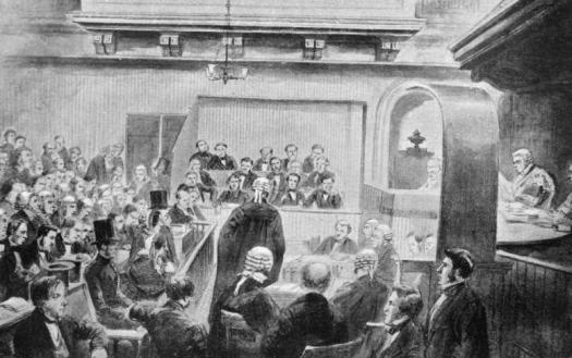 Moncreiff address the jury at Madeleine Smith's Trail - 1857
