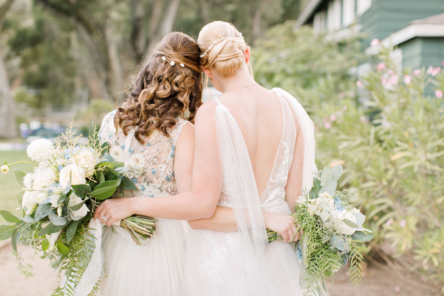 Delicate Bridal Accessories for a Garden Wedding