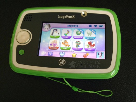 Review Leap Frog LeapPad3 LeapPad3 LeapFrog  Carrie