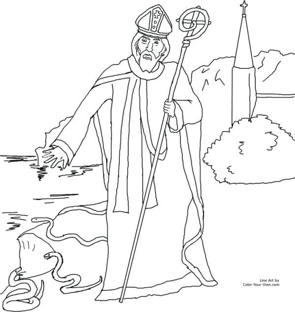 saint coloring pages # 11