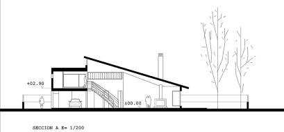 La vivienda unifamiliar en Lozoya