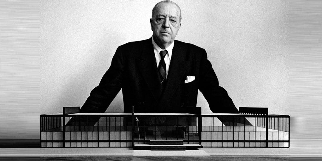 Ludwig Mies van der Rohe: Menos es más