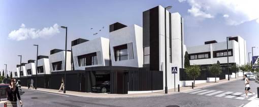 Conjunto residencial unifamiliar Buenavista en Getafe.