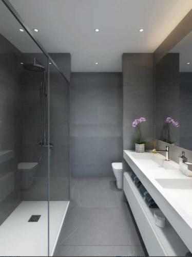 baño de diseño en Boadilla