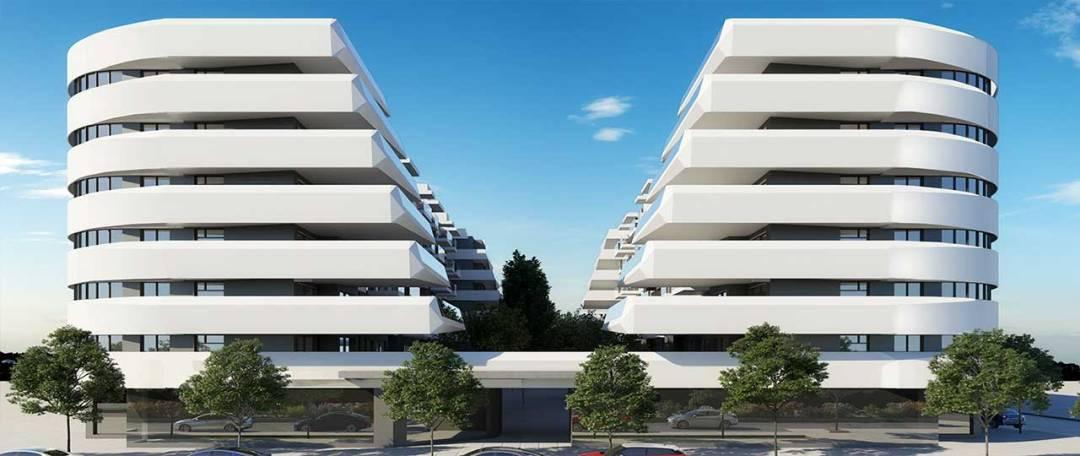 Residencial de viviendas sostenibles en Getafe