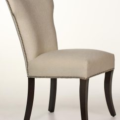 Nailhead Dining Room Chairs Child S Desk And Chair Set Uk Berkeley With Trim Contemporary Design