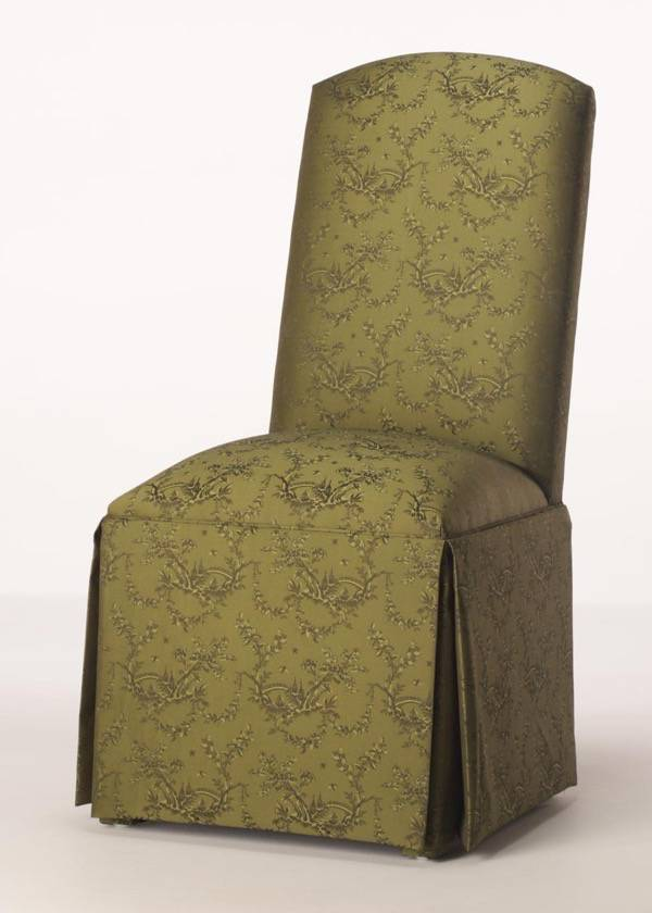 fabric living room chairs pictures of pretty rooms hatteras skirted parsons chair