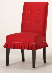 SKIRTED DINING CHAIR  Chair Pads & Cushions