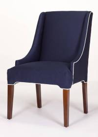 Litchfield Parsons Wing Chair - Custom Made in the USA