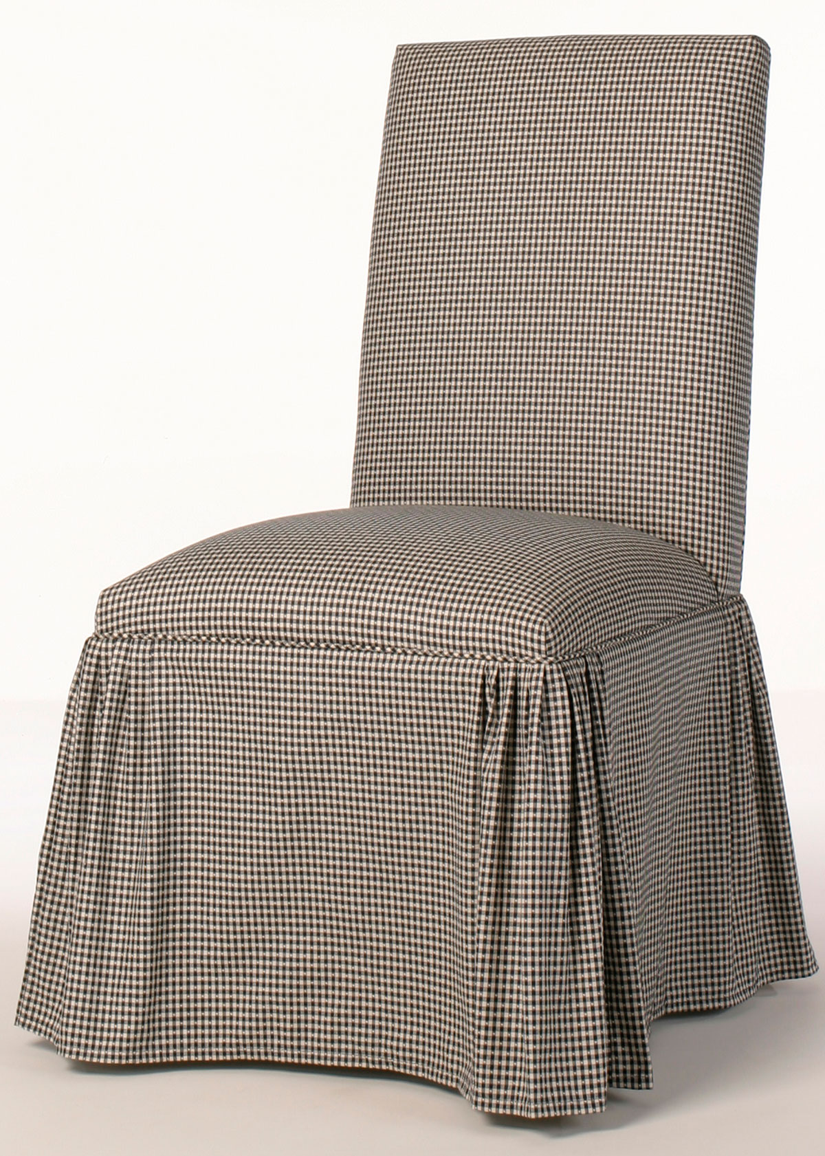 parsons chairs with skirt chameleon chair covers yeovil straight back ruffled pleat