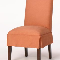 Chair And A Half Slipcovers High Graco Rolled Back Dining With Skirt