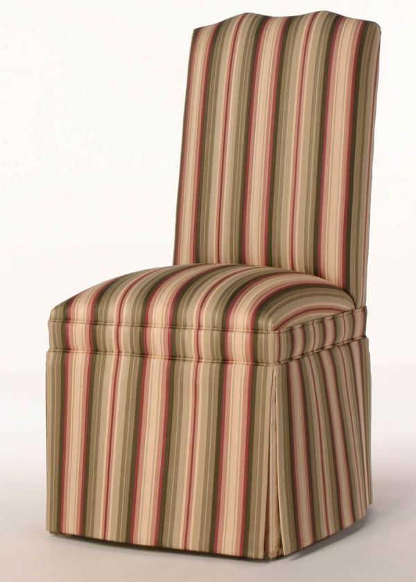 Camel Back Parsons Chair