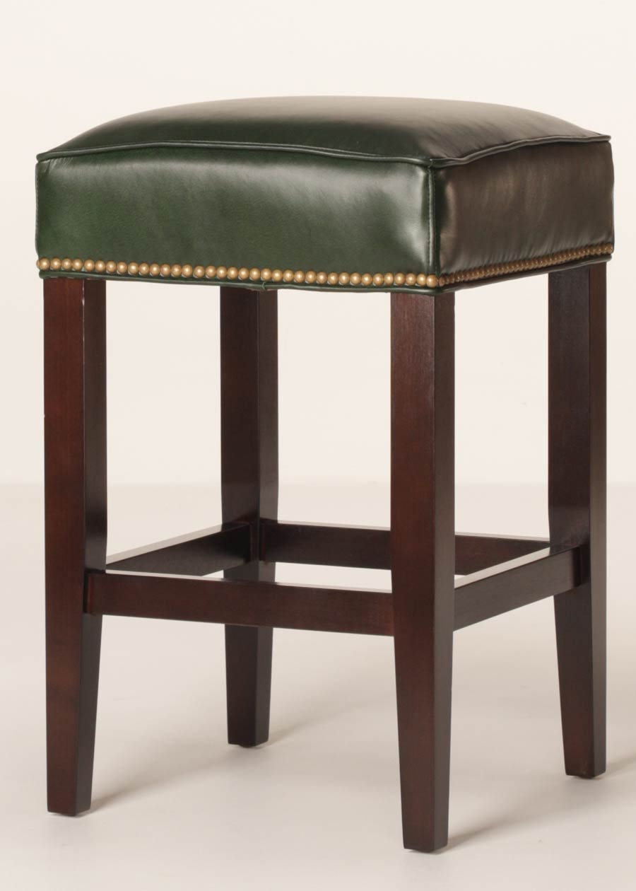 Sonoma 26 Inch Leather Counter Stool  Customizable  Buy