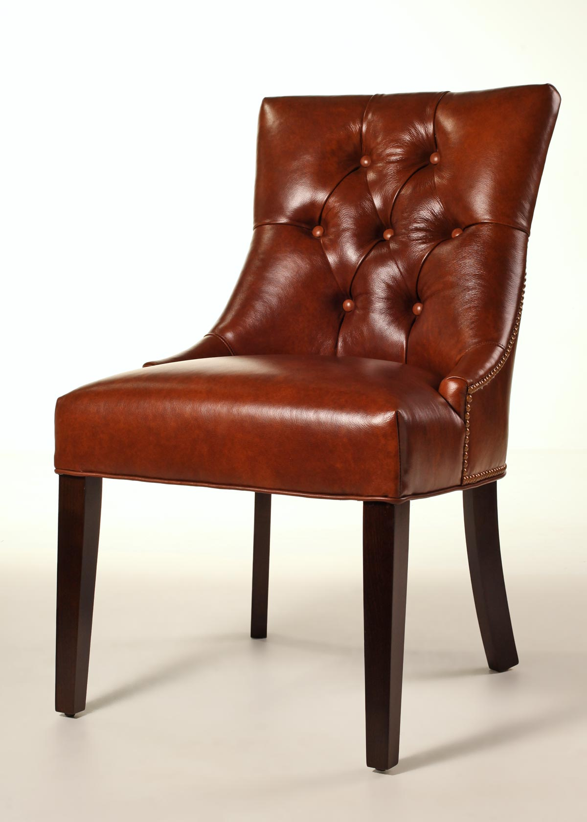 leather dining chairs room host and hostess fenwick chair