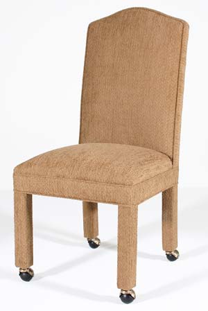 dining chairs on casters folding adirondack chair woodworking plans parsons room