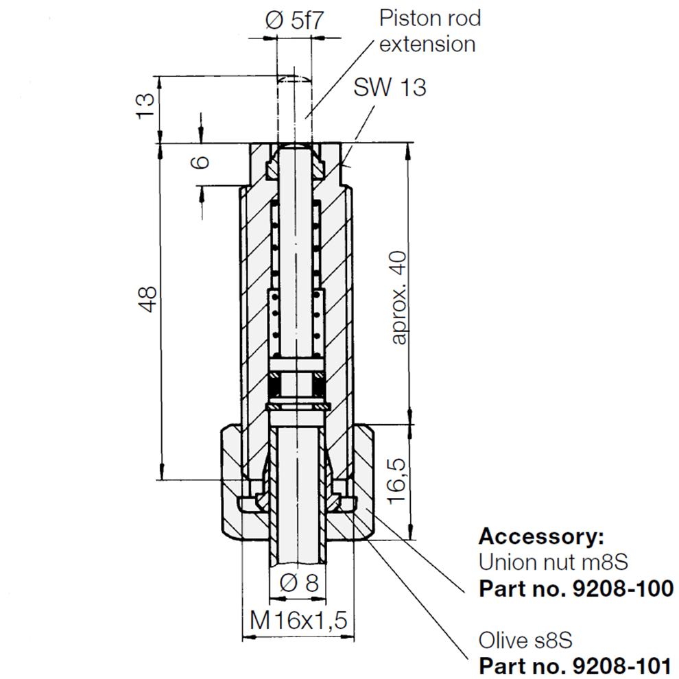 Threaded-Body Cylinders