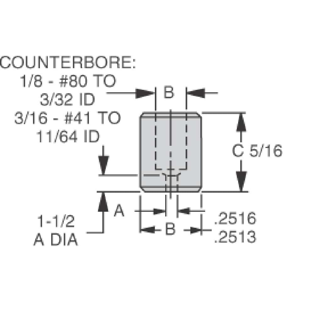 Circuit-Board-Drill Bushings