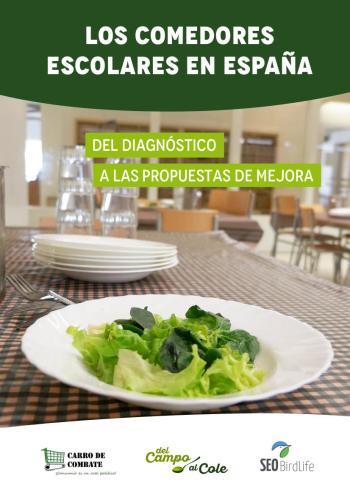 Presentamos un nuevo informe sobre los comedores escolares en España ...