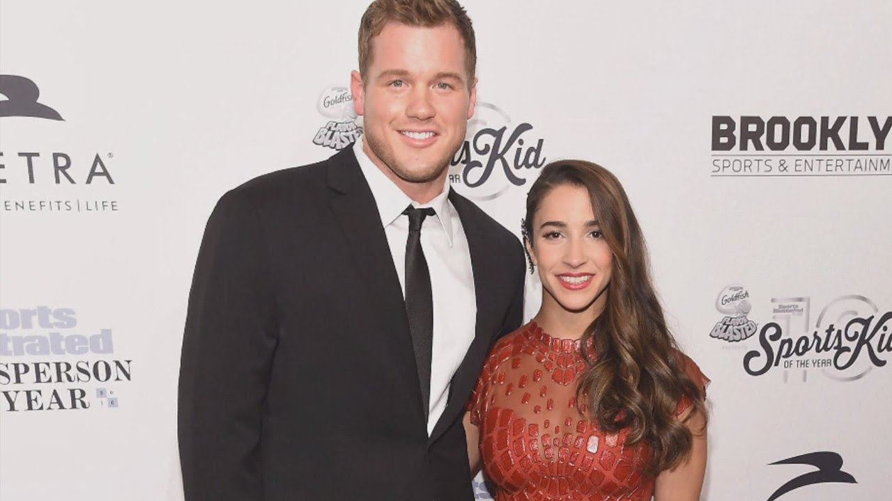 Colton Underwood Aly Raisman