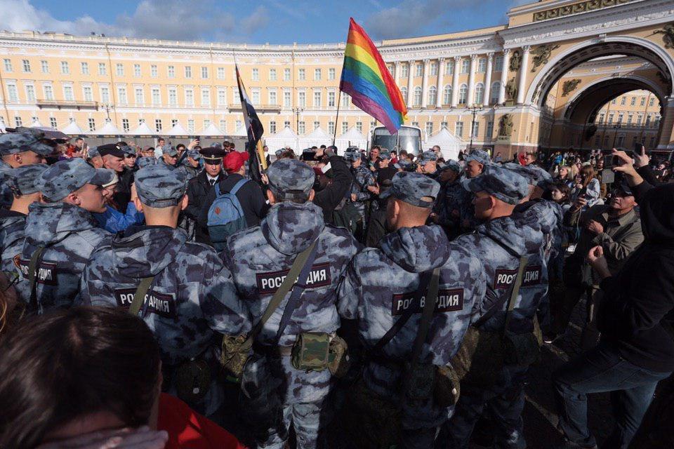 violenza Pride San Pietroburgo Russia