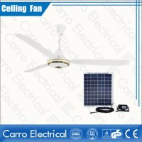 56 Inch Electric Decoration Solar Ceiling Fan Manufacturer