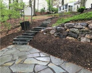 Hardscape Features from Carroll Landscaping