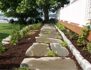 Natural Stone Hardscape Features