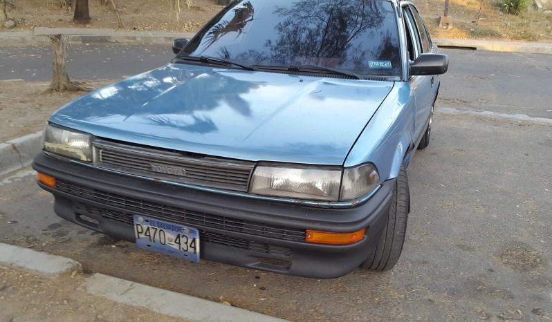 Usados: Toyota Corolla 1989 mecánico full