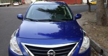 Nissan Versa 2016 MOTOR 1.6 cc * PAQUETE ELÉCTRICO* MANDOS AL TIMÓN * ESTÉREO DE FÁBRICA* CONTROL REMOTO Y ALARMA DE FABRICA* AIRE ACONDICIONADO HELANDO* APERTURA DE BAÚL A DISTANCIA