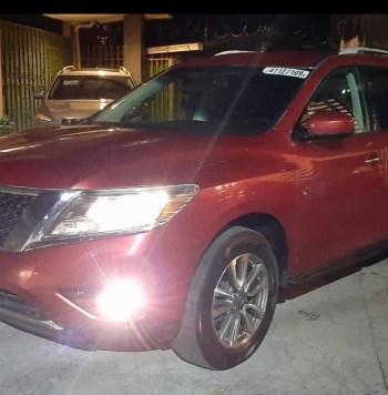 🔥 Nissan Pathfinder 2013 SV 🔥 🏁Full extras 🏁 Rines 🏁 Frenos ABS 🏁 Camara de retroceso y sensores de parqueo 🏁 Bluetooth 🏁 Mandos en Timon