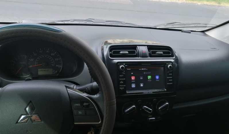Mitsubishi Mirage 2017 tipo sedan, 4 puertas, full aire acondicionado, 35,000 millas reales, no muy corrido, pantalla táctil, cámara de retroceso, motor 1.2 super económico, 3 cilindros,