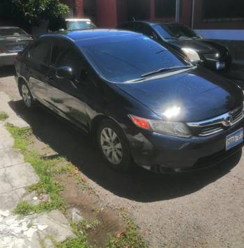 Honda Civic 2012 en El Salvador
