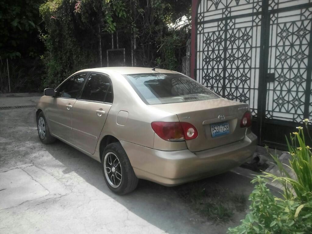 Venta De Carros En El Salvador >> Toyota Corolla 2003 Carros En Venta San Salvador El Salvador