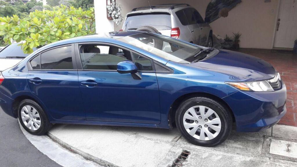 Honda Civic 2012 Sistema Econ Nice Carros En Venta San Salvador