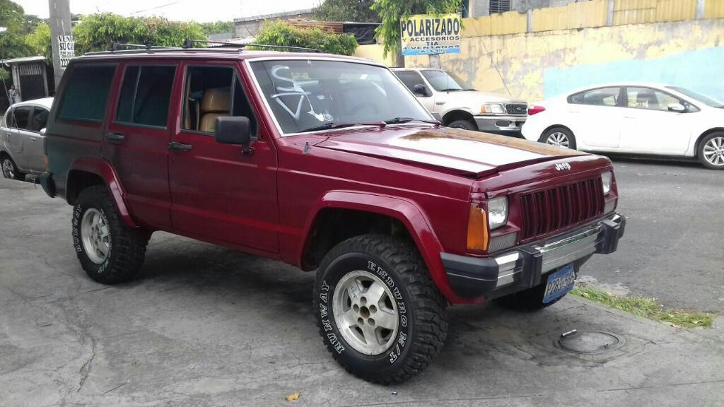 Vendo Jeep Cherokee 88 - Carros en Venta San Salvador El ...