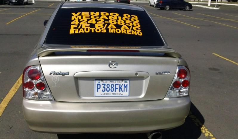 Usados: Mazda Protege 2003 mecánico en Zona 17 Guatemala