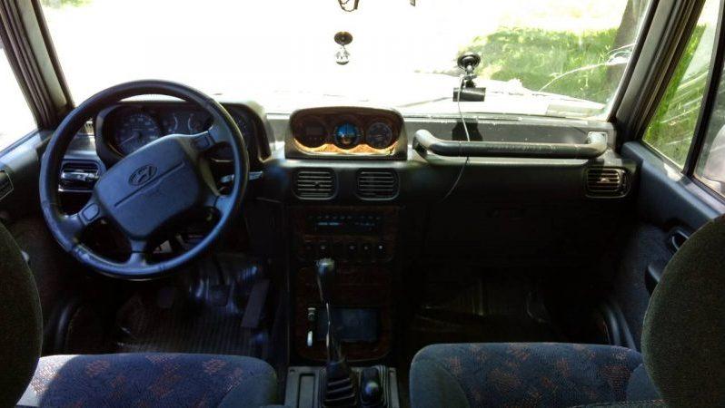 Usados: Hyundai Montero 2000 en El Estor, Izabal full