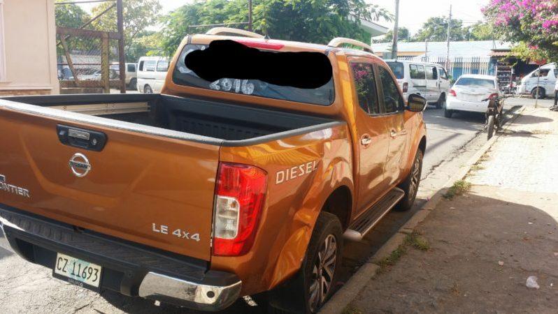 Usados: Nissan Frontier 2016 doble embrague 4×4 full