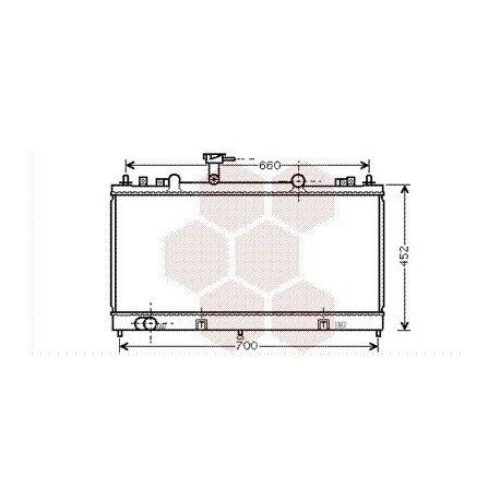 radiateur moteur pour mazda 6 version : 2.0 citd / 2.0