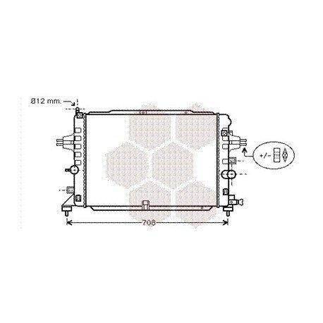 radiateur moteur pour opel astra h version : 1.6 turbo de