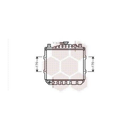 radiateur moteur pour suzuki alto version : ga / gl de