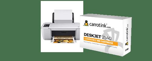 HP Deskjet 2540 Ink   Carrot Ink