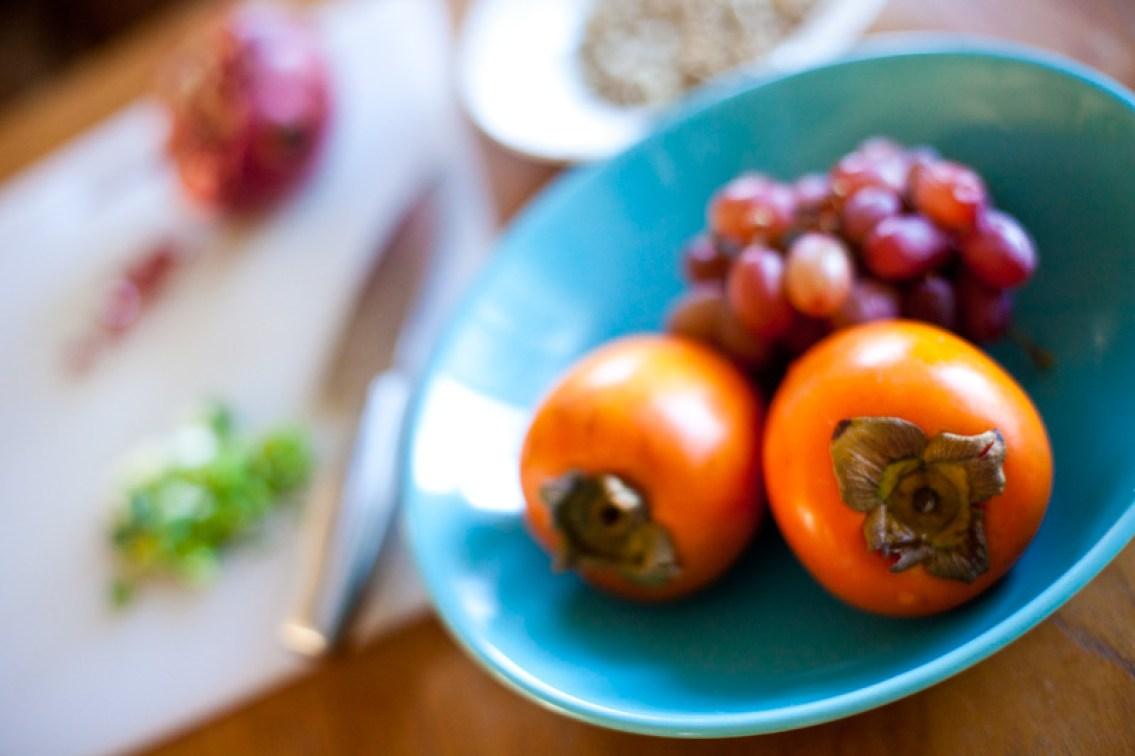Pomegranate Persimmon Salad